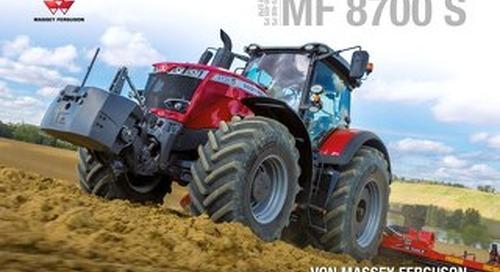 MF 8700 S Prospekt - DE