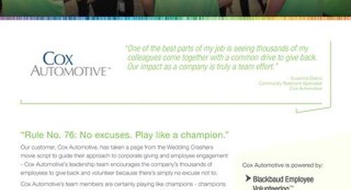 Cox Automotive - Customer Story