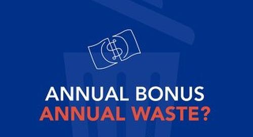 Annual Bonus, Annual Waste?