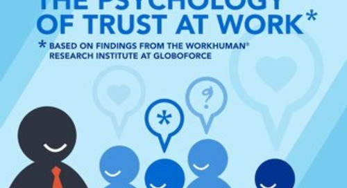 The Psychology of Trust at Work