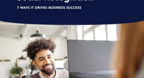 The ROI of Social Recognition