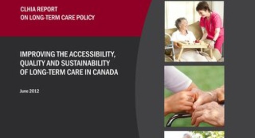 CLHIA REPORT ON LONG-TERM CARE POLICY
