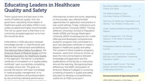 Population Health Matters Summer 2014 Vol. 27. No. 3