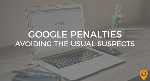 Google Penalties: Avoiding the Usual Suspects