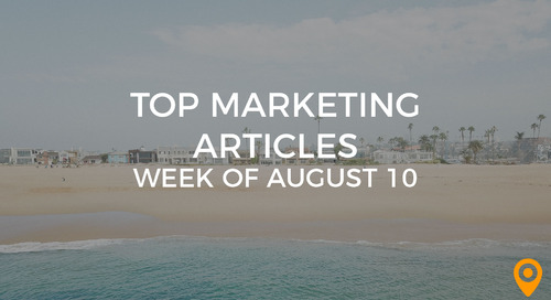 Top 25 Digital Marketing Articles – Week of 08/10/18