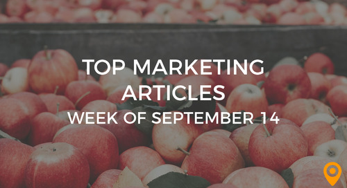 Top 25 Digital Marketing Articles – Week of 09/14/18