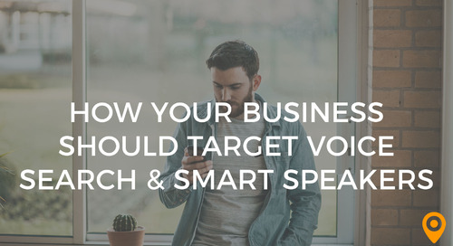 How Your Business Should Target Voice Search & Smart Speakers