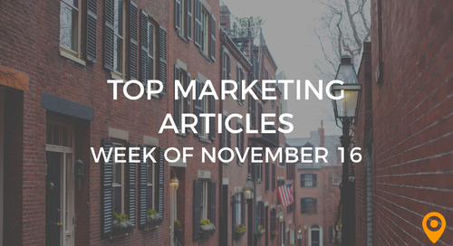 Top 25 Digital Marketing Articles – Week of 11/16/18