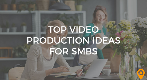 Video Production Ideas SMBs Can Use to Hit Their Marketing Objectives
