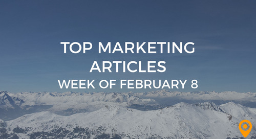 Top 25 Digital Marketing Articles – Week of 02/08/19