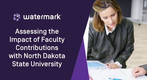 Assessing the Impact of Faculty Contributions With NDSU