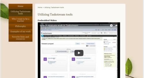 E-Portfolio Tips & Tricks for Students