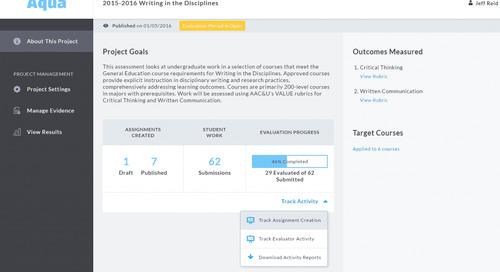 Aqua Updates: Improved Tracking, Project Management, & More!