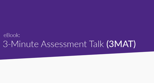 Introducing the 3 Minute Assessment Talks! (3MAT)