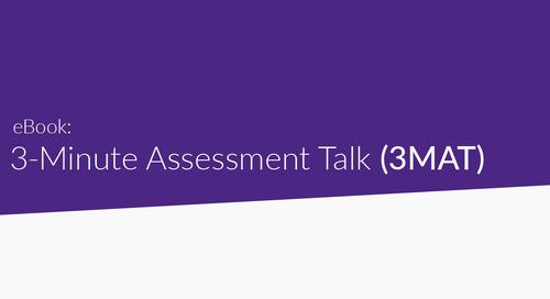 Introducing the 3 Minute Assessment Talks! (3MAT)