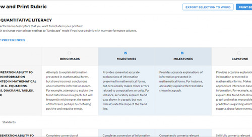 New in LAT: Updated content editor & ability to publish rubrics