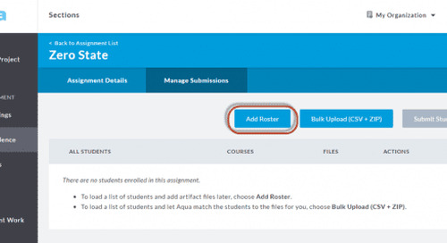Manage Student Submissions Easily in Aqua