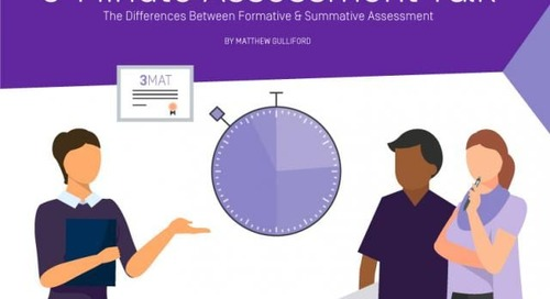 3 Minute Assessment Talk (3MAT) – The Differences Between Formative & Summative Assessment