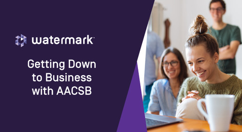 Getting Down to Business with AACSB