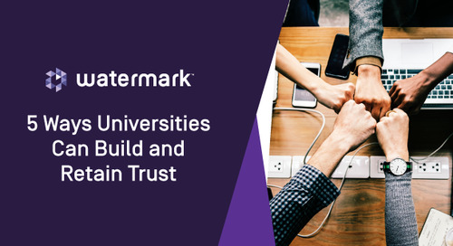 Five Ways Universities Can Build and Retain Trust