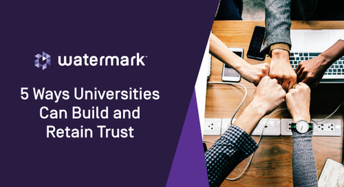 Five Ways Universities Can Build and Retain Trust