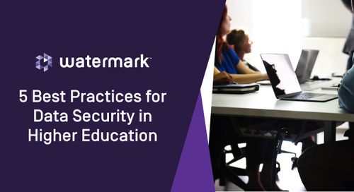 5 Best Practices for Data Security in Higher Education