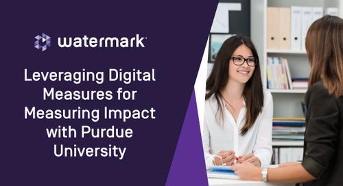 Leveraging Digital Measures for Measuring Impact with Purdue University