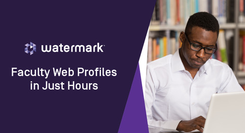 Web Profiles in Just Hours With Montana State University and North Carolina State University