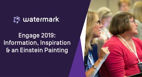 Engage 2019: Information, Inspiration & an Einstein Painting