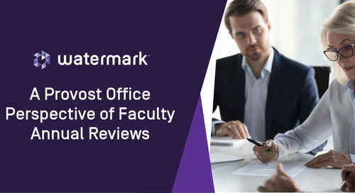 A Provost Office Perspective on Faculty Annual Reviews with Susan Lewis of Abilene Christian University