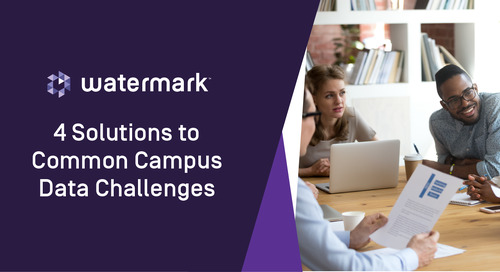 4 Solutions to Common Campus Data Challenges