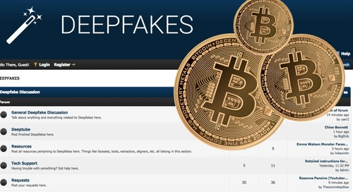 Surprise, Surprise: A Deepfakes Website Is Loaded With Cryptocurrency Mining Malware