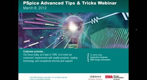 PSpice Advanced Tips & Tricks