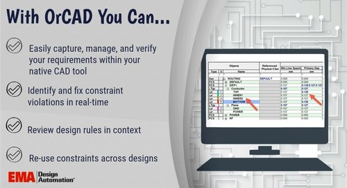 Constraint Manager for OrCAD Overview