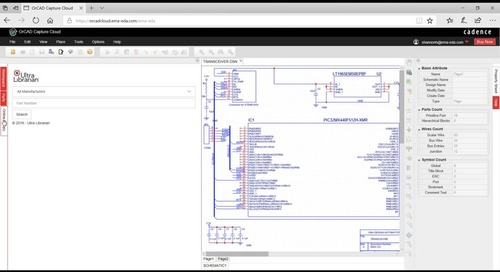 Getting Started with the OrCAD Capture Cloud
