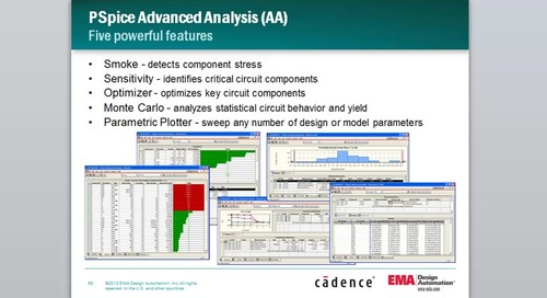 Quick Tutorial: Exposing Components Prone to Failure with Smoke Analysis in PSpice Advanced Analysis