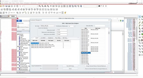 DDR Constraint Manager for OrCAD Wizard