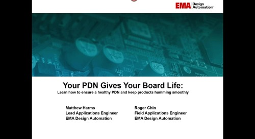 On-Demand Webinar: Learn how to ensure a healthy PCB Power Delivery Network (PDN)