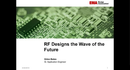 On-Demand Webinar: Designing for RF - Tips and Tricks from the Pros