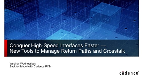 Conquer High Speed Interfaces Faster