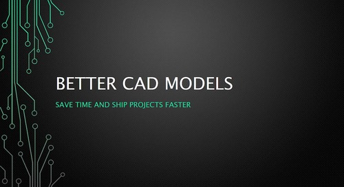 Better CAD Models
