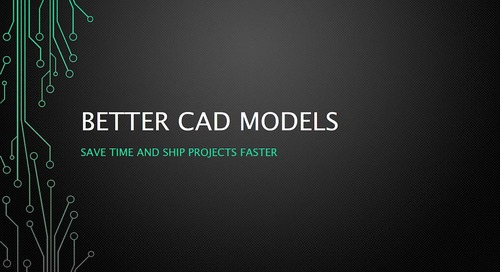 Better CAD Models