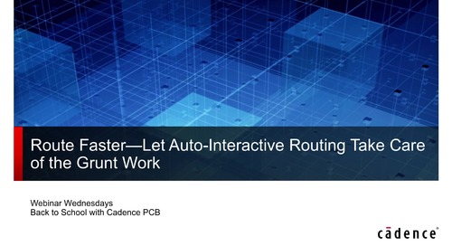 Route Faster: Let Auto-Interactive Routing Take Care of the Grunt Work
