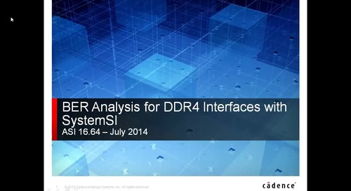 DDR4 Power-Aware Signal Integrity Adopting Serial Link Simulation Techniques
