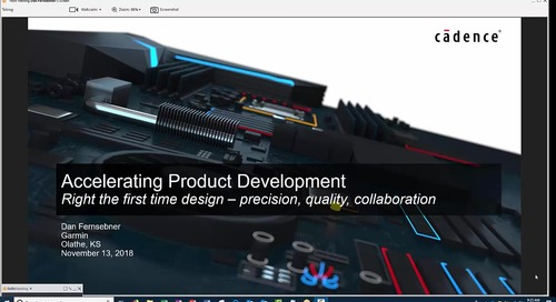 Garmin: Accelerating Product Development
