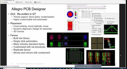Garmin Workshop: Allegro PCB Designer (Part 1)