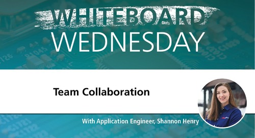 Whiteboard Wednesday: Team Collaboration