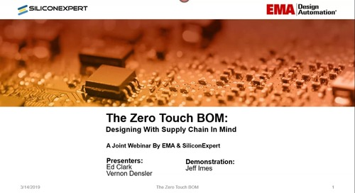 The Zero Touch BOM: Prevent Component Sourcing Issues Before they Happen