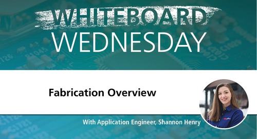 Whiteboard Wednesday: Fabrication Overview