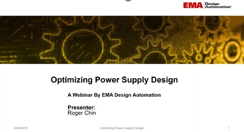 On-Demand Webinar: Optimizing Power Supply Design